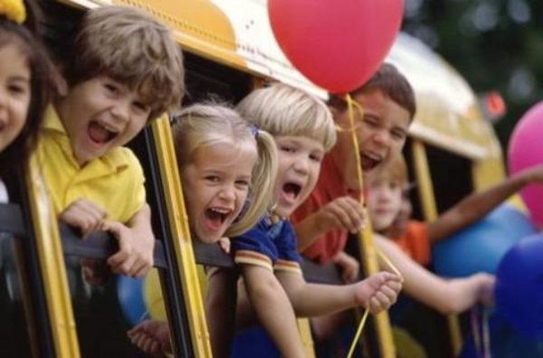 Аренда автобусов для детей в СПб