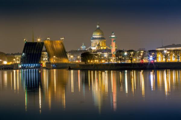 экскурсии по ночному Питербургу